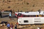 راننده در حادثه واژگونی اتوبوس خبرنگاران مقصر است