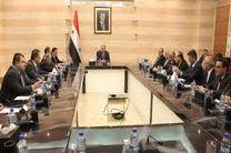 بازدید هیات دولت سوریه از حلب به دستور «بشاراسد»
