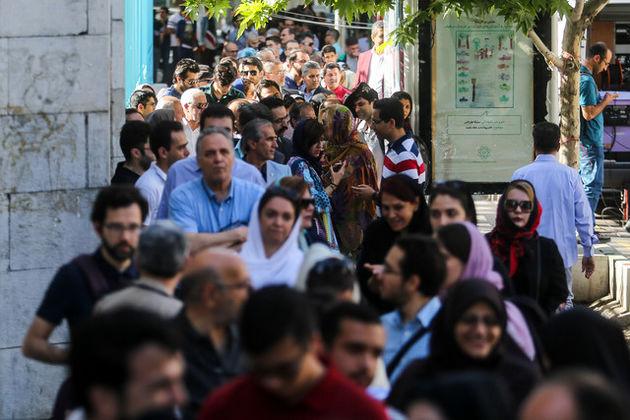 حضور رئیس سازمان بازرسی در حسینیه ارشاد
