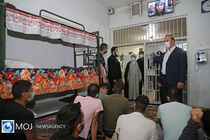 بازدید رییس قوه قضاییه از زندان دماوند