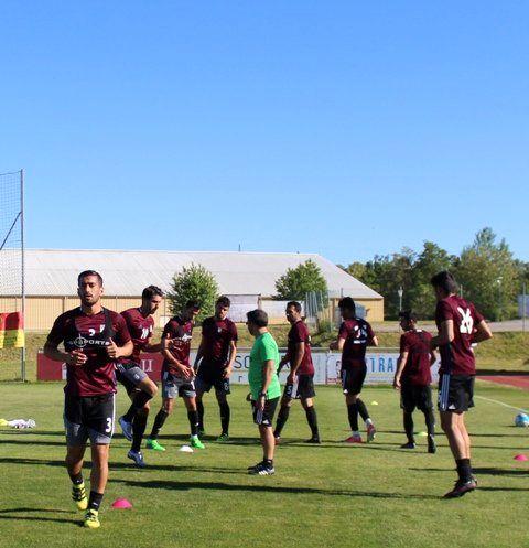 تمرین تیم ملی فوتبال در اتریش