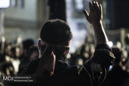 مراسم عزاداری شب عاشورای حسینی در هییت هنر