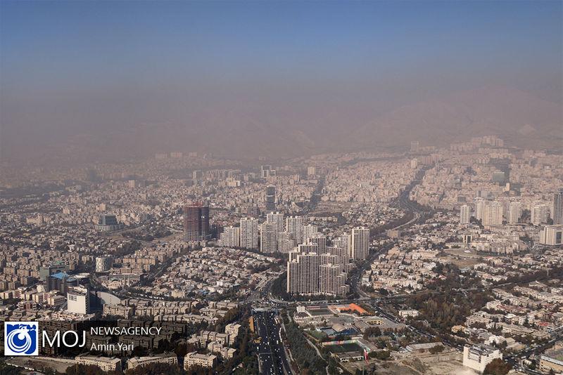 کیفیت هوای تهران ۶ بهمن ۹۸ سالم است/ شاخص کیفیت هوا به ۷۳ رسید