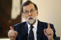 ماریانو راخوی توسل به «گزینه اتمی» را برای مهار بحران کاتالونیا محتمل دانست