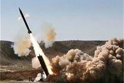 حملات موشکی انصارالله یمن به محل تجمع متجاوزان سعودی