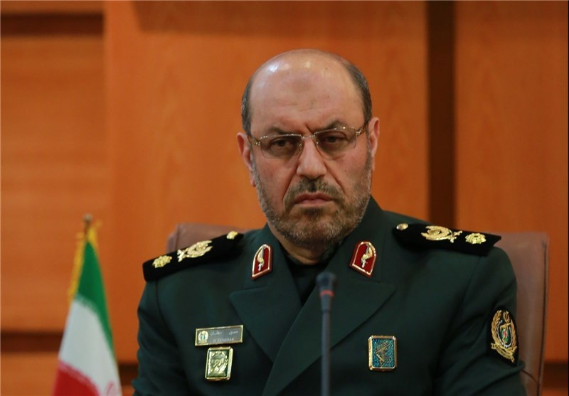 وزیر دفاع یک خبر انتخاباتی تکذیب کرد