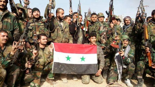 امنیت مثلث بغداد - اردن - دمشق در صحرای سوریه تأمین شد