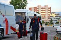 ورود تیمهای ملی والیبال فرانسه و پرتغال به اردبیل