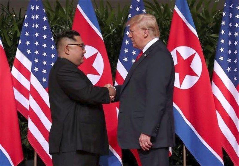 آغاز دیدار رهبری کره شمالی با ترامپ