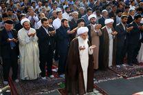 برپایی نماز عید فطر به امامت نماینده ولی فقیه در کرمانشاه