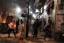 یورش صهیونیست ها به منازل مسکونی فلسطینی ها در کرانه باختری