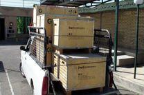 کشف بیش از 2 هزار کیلو گرم مواد اولیه محصولات بهداشتی قاچاق در ساوجبلاغ