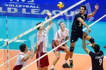 نتیجه دیدار والیبال ایران صربستان/ شکست تیم ایران در ست پنجم