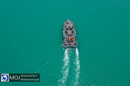 مانور دریایی ناوشکن دنا و مین شکار شاهین