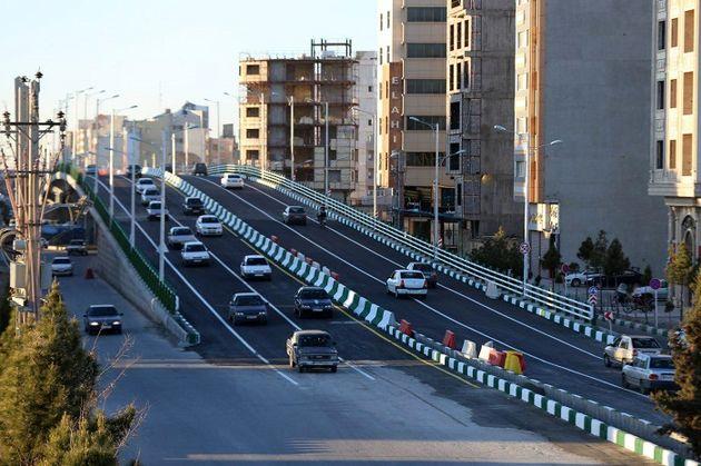 تقاطع سه سطحه شهدای مدافع حرم اردیبهشت ماه به بهرهبرداری میرسد