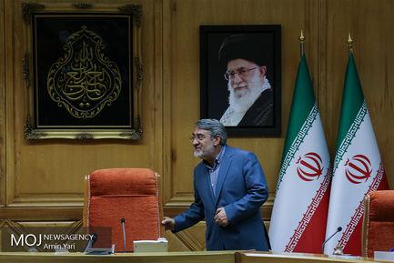 مراسم تنفیذ محمد علی افشانی با حضور وزیر کشور