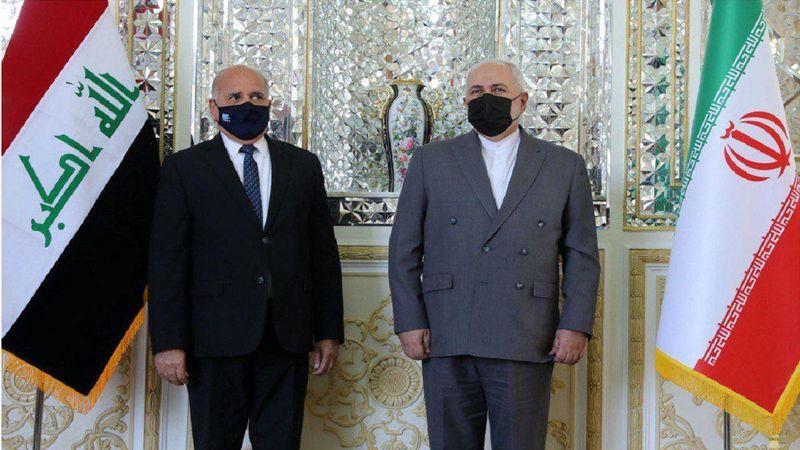 وزیر امور خارجه جمهوری عراق با ظریف در تهران دیدار کرد