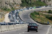 تردد تمامی تریلی، کامیون و کامیونت از محور کندوان کماکان ممنوع است/ترافیک سنگین در محورهای مازندران