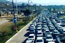 تردد خودرو از رودهن به سمت آمل ممنوع شد