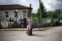 زندگی پناهجویان در مرز یونان و آلبانی از نگاه دوربین