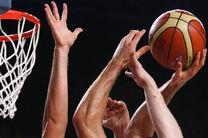 شکست تیم بسکتبال آرارات تهران در مقابل مقاومت میناب