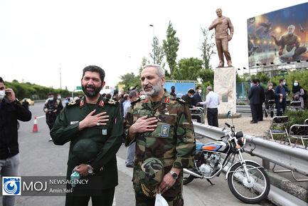 رونمایی از تندیس سردار شهید حاج قاسم سلیمانی