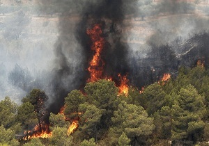 مهار آتشسوزی در مراتع بازی دراز