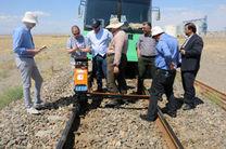 کارشناسان اتریشی از خطوط ریلی راه آهن خراسان بازدید کردند