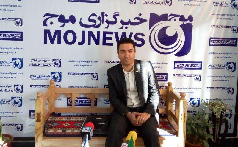بازدید سرپرست روابط عمومی مخابرات منطقه اصفهان از دفتر خبرگزاری موج