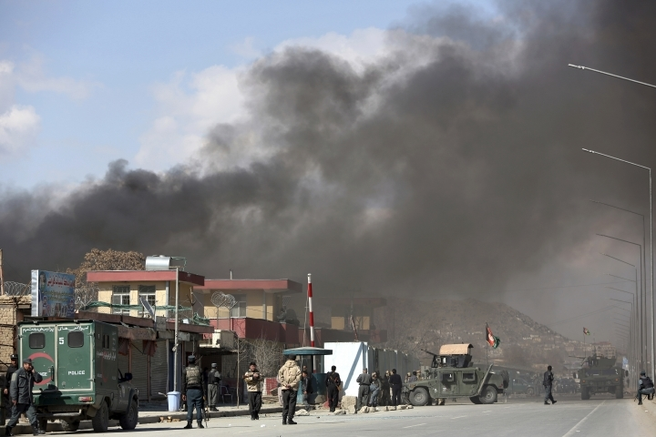 کابل هدف حملات راکتی قرار گرفت