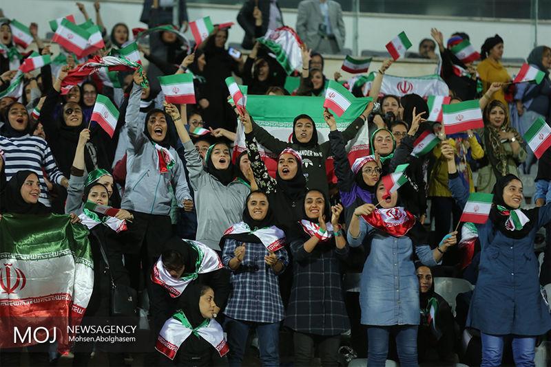 حضور هواداران زن در ورزشگاه آزادی آزاد شد