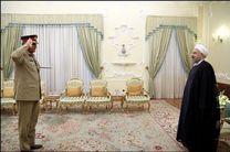 روحانی بر ضرورت همکاری های نظامی و دفاعی تاکید کرد