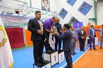 بانک صادرات ایران قهرمان مسابقات کشتی شبکه بانکی شد