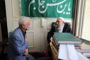 دیدار شهردار و رئیس شورای شهر اصفهان با آیت الله ناصری