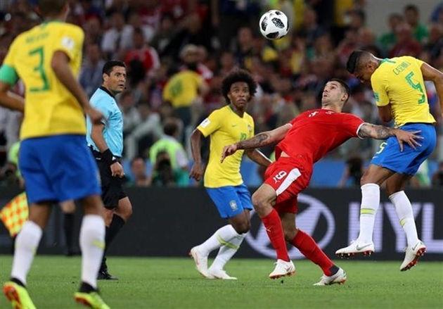 ساعت بازی برزیل و بلژیک در مرحله یک چهارم نهایی جام جهانی