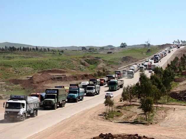 3 شهریور شروع دوباره صادرات کالا از مرز رسمی خسروی
