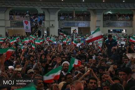 همایش حامیان سید ابراهیم رئیسی در  مصلی تهران (2)