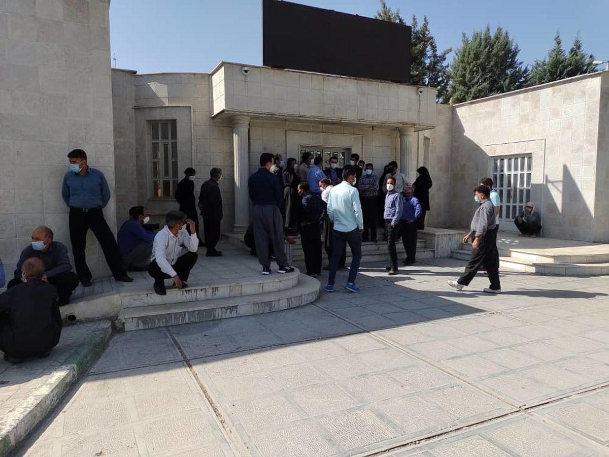 اعتراض روستاهای کرمانشاه از بی آبی به استانداری رسید
