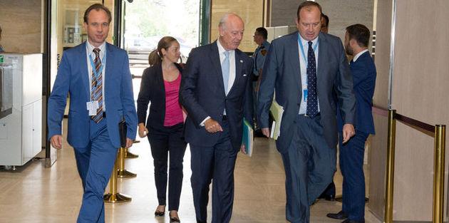 پایان دور هفتم مذاکرات ژنو بدون فرو ریختن دیوار بحران سوریه
