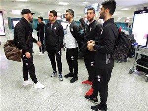 تیم ملی فوتبال ایران ساعت 21 به وقت محلی به هتل خود در شهر گراتس رسید