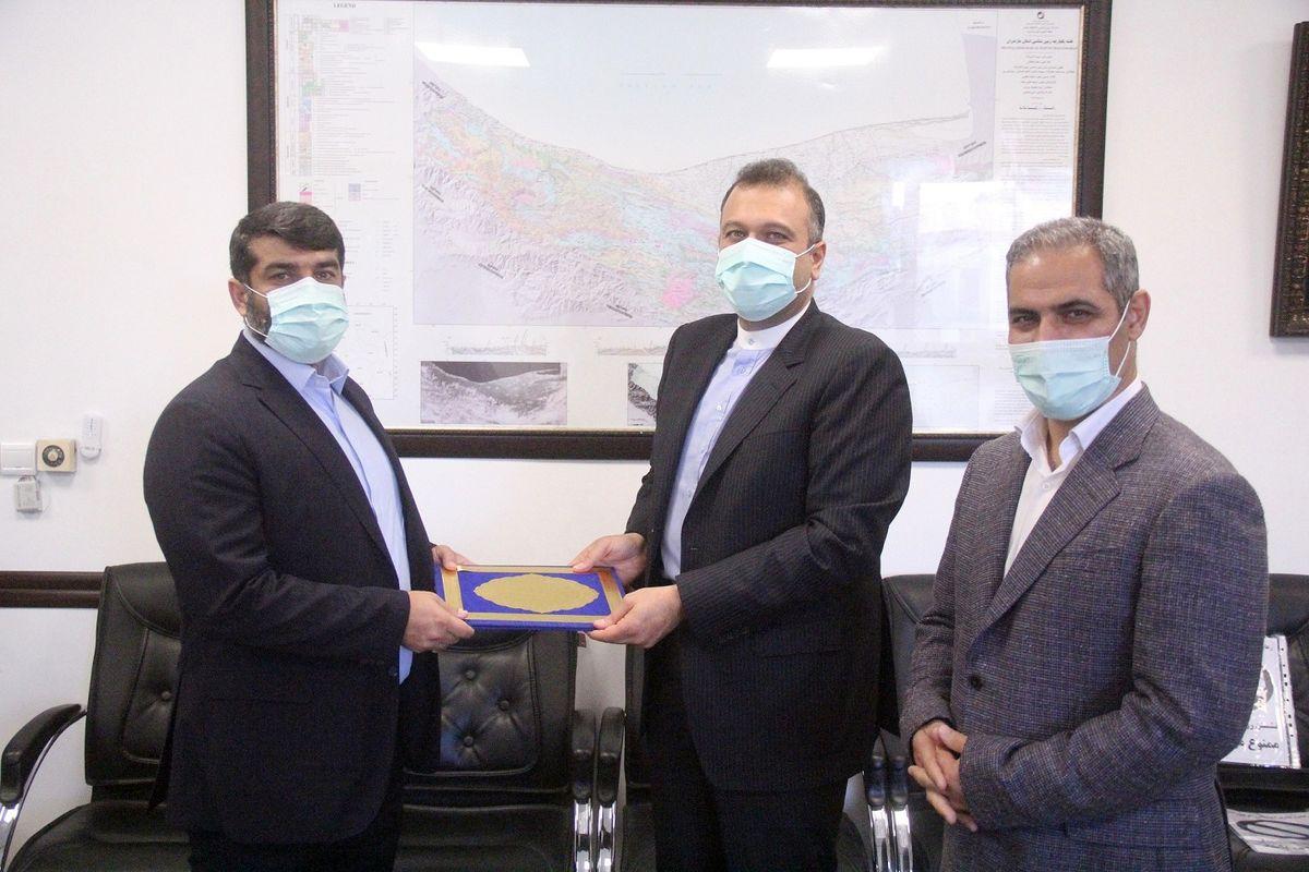 شهردار جدید ساری به وزارت کشور معرفی شد