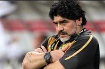 مارادونا از تیم دسته دومی اماراتی برکنار شد