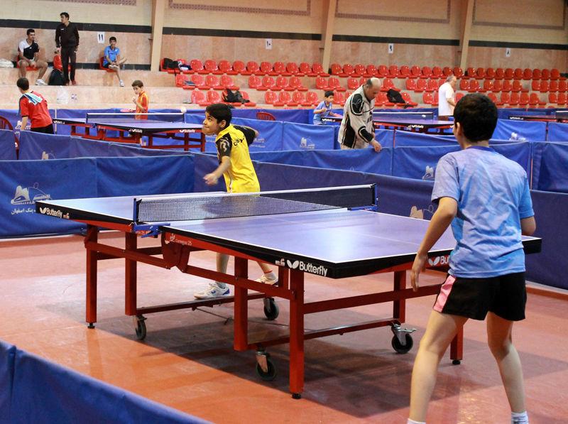 اولین جشنواره استعداد یابی تنیس روی میز در مهریز