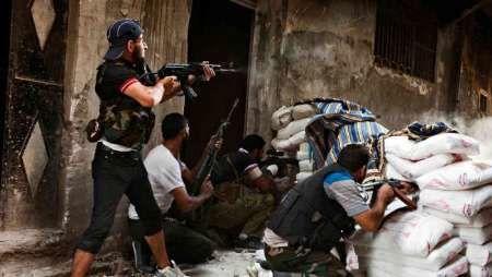 درگیری تروریست ها در سوریه