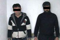۲ مجرم حرفهای در رامیان دستگیر شدند/ کشف سلاح غیرمجاز