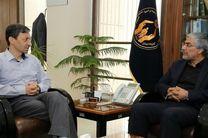 دیدار رئیس کمیته ملی المپیک با رئیس کمیته امداد