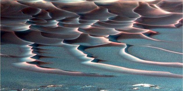 کشف شواهدی جدید از وجود حیات در مریخ