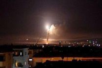 حملات جنگنده های اسرائیلی به جنوب دمشق