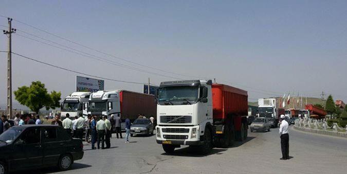 اخلالگران در مسیر کامیون ها به اتهام افساد فی الارض محاکمه خواهند شد