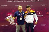 کشتی گیر اردبیلی مدال طلای جوانان آسیا را کسب کرد